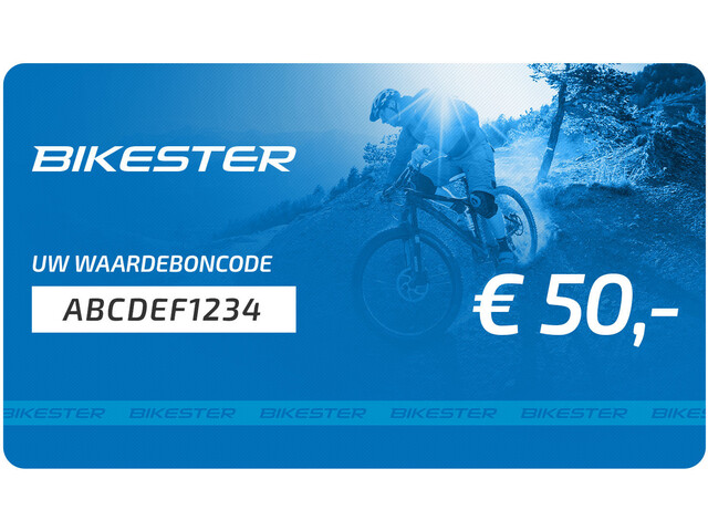 Bikester E-cadeaubon, 50 €